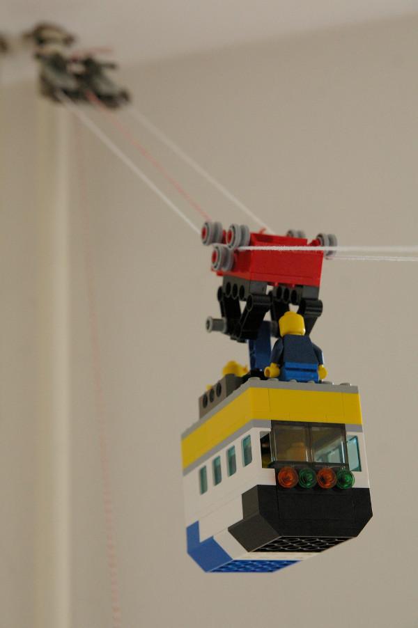 lego kabelbaan bevestiging boven